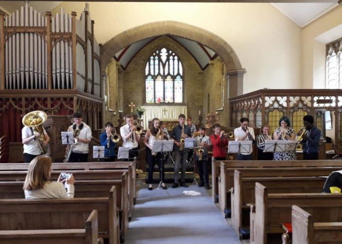 Scissett Youth Band church